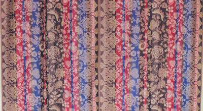 Indian Inspired Curtains Paisley Multicolor Jamawar