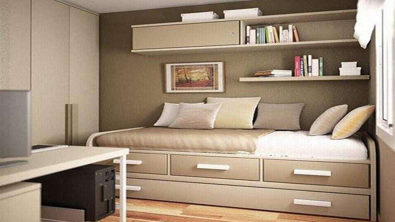 Inspiring Clever Storage Solutions Small Bedroom Van