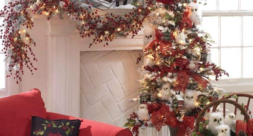 Inspiring Ideas Holiday Mantel