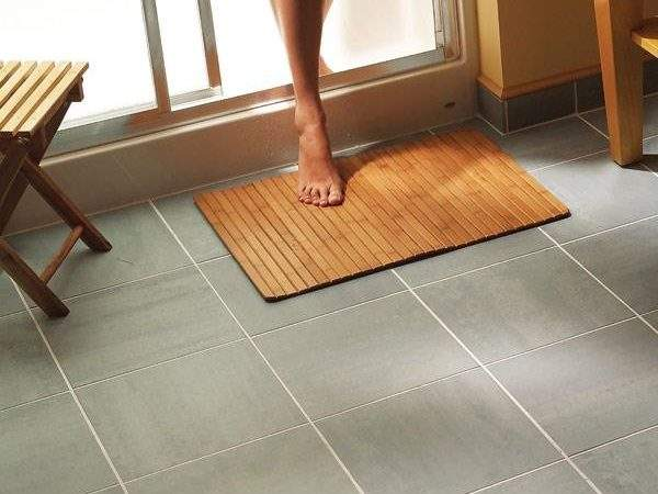 Install Bathroom Flooring Interior Design Ideas