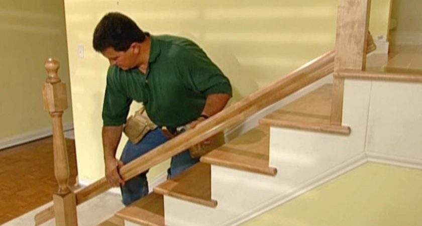 Install New Stair Treads Railings Tos Diy