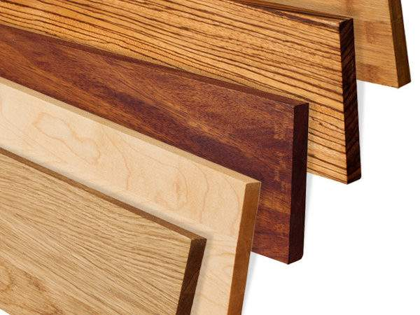 Install Upstands Matching Solid Wood Kitchen