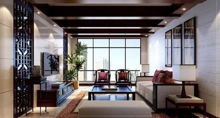 Interior Decoration Chinese Style Living Room
