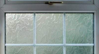 Interior Frosted Glass Bathroom Window Houses