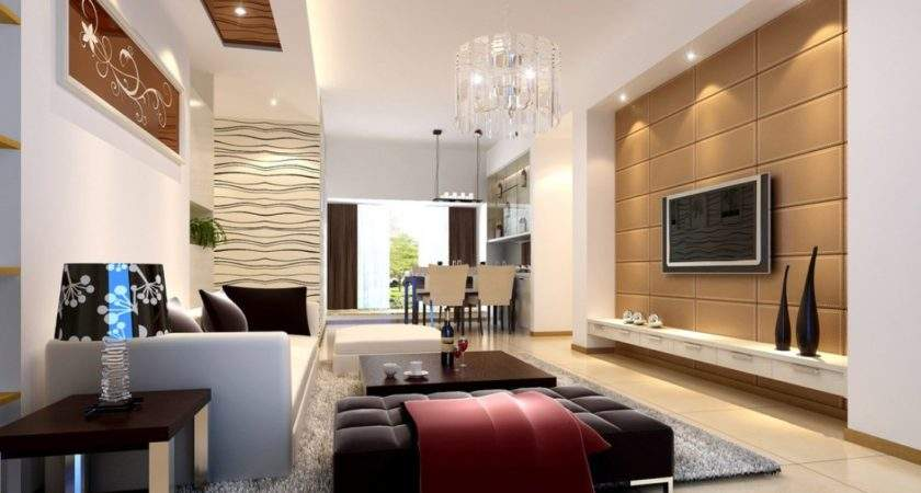 Interior Living Room Wall House