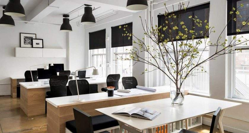 Interior Office Design Ideas Follow Only Table Tops