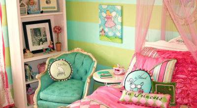 Itmom Parisian Themed Little Girls Bedrooms