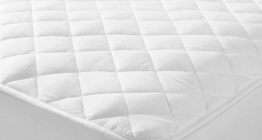 John Lewis Natural Cotton Quilted Mattress Protector