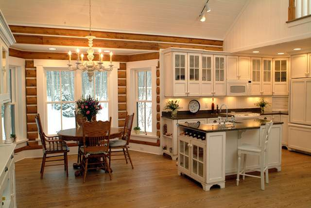 Josie Cabin Rustic Kitchen Grand Rapids Sears