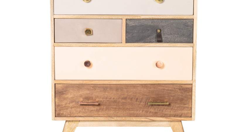 Keira Wooden Chest Drawers Oliver Bonas