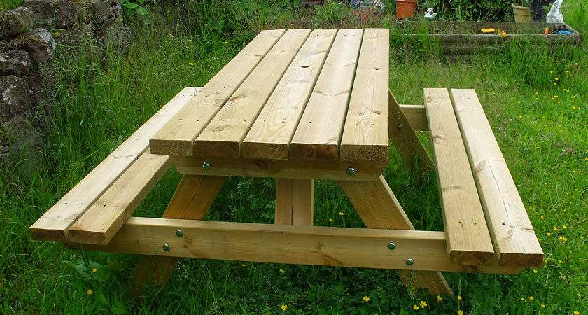 Kids Picnic Table Rourke Playscapes Northern Ireland