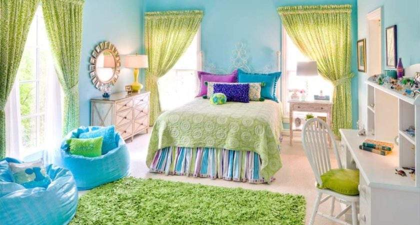 Kids Room Stylish Modern Colorful Bedrooms
