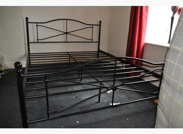 King Metal Bed Frame Argos Mths Old Bloxwich