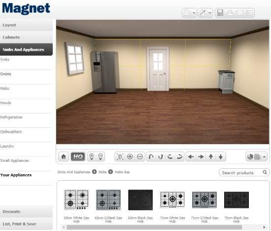 Kitchen Design Software Magnet