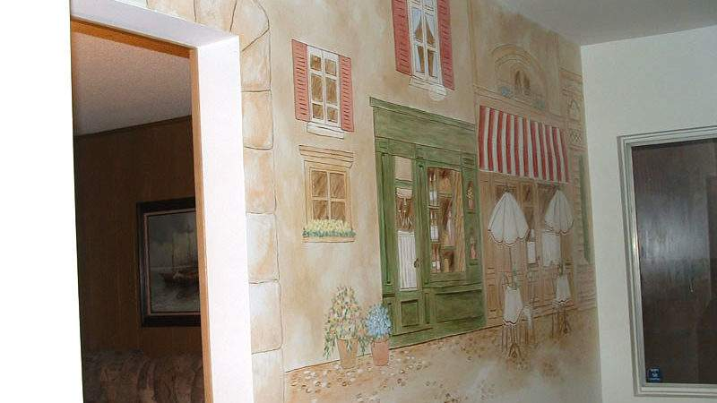Kitchen Murals Hand Painted Wall Borders