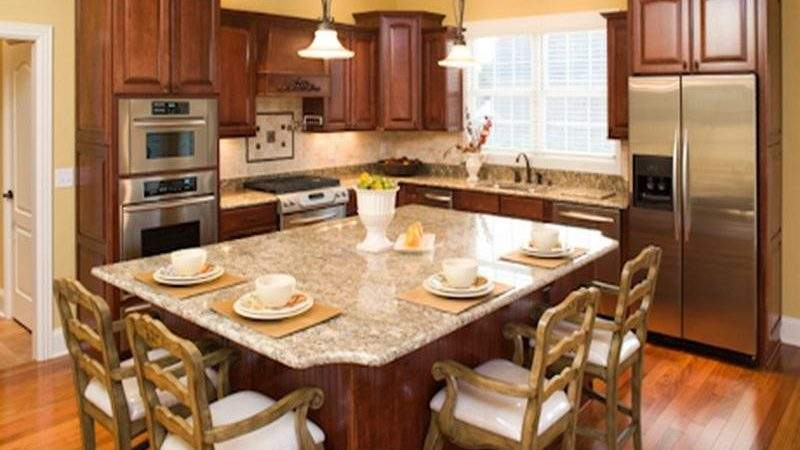Kitchen Small Island Designs