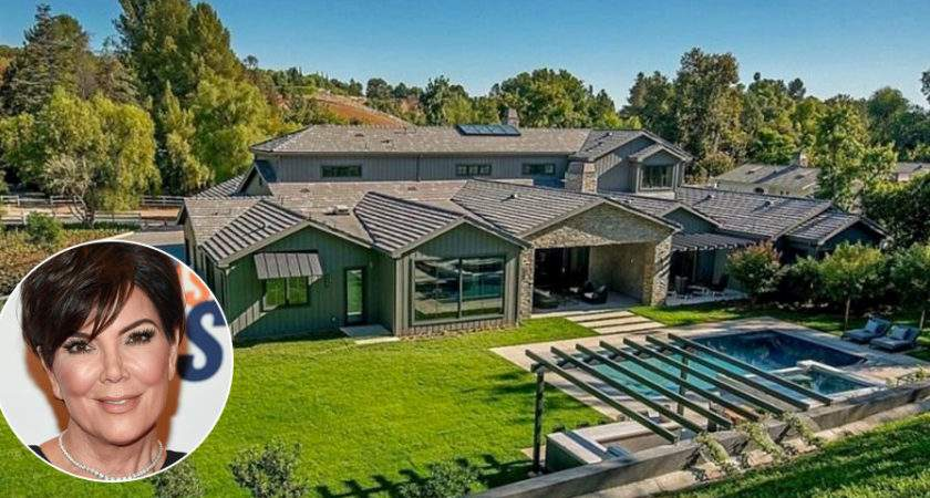 Kris Jenner Drops New Hidden Hills Home