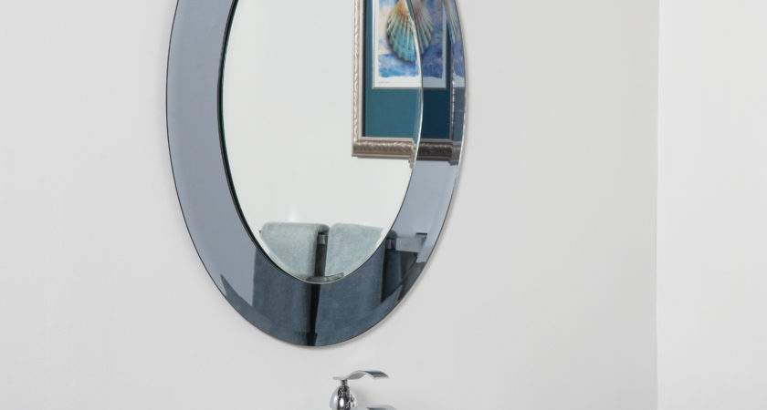 Large Bathroom Wall Mirror Round Mirrors