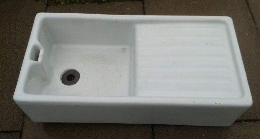 Large Belfast Butler Sink Drainer Traditional