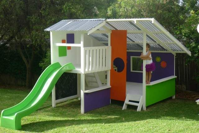 Large Cubby House Kits Kids Houses Wooden Diy
