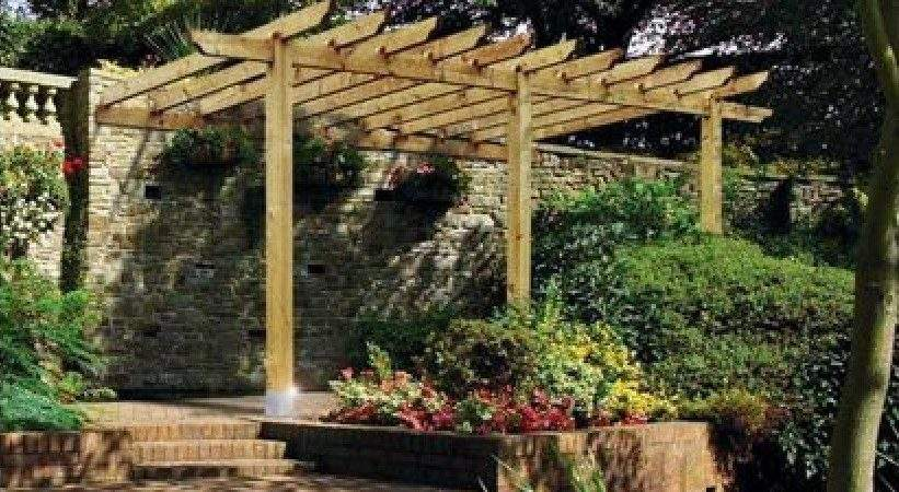 Large Lean Pergola Kit Cheap Prices Gazebo