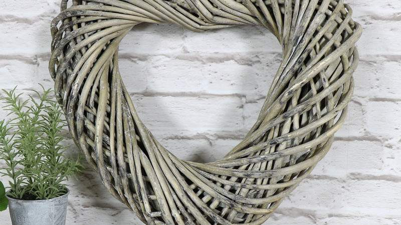 Large Shabby Chic Vintage Wall Love Heart Home Accessory