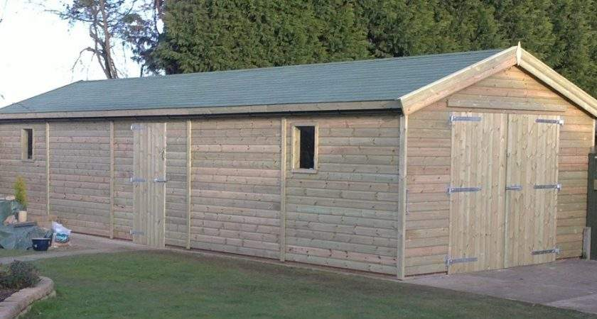 Large Sheds Bespoke Made Direct Manufacturer Any