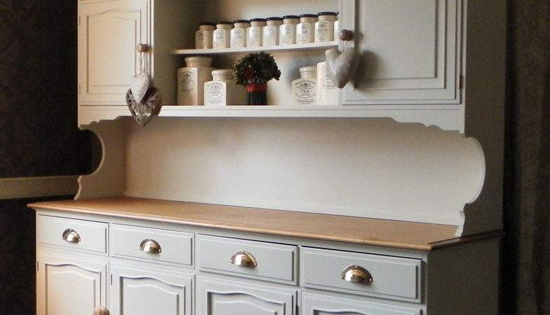Large Stag Dresser Sideboard Kitchen Unit Hand Painted