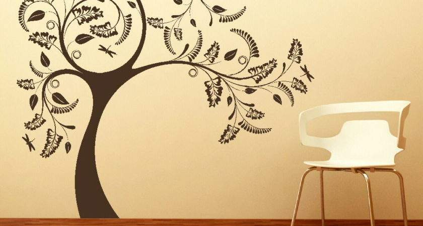 Large Tree Giant Wall Sticker Huge Removable Vinyl