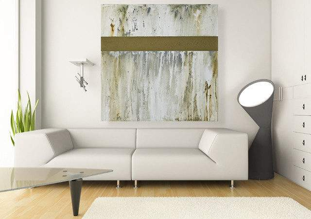 Large Wall Art Original Inch Neutral Abstract