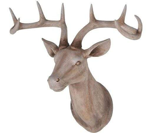 Large Wood Effect Stags Head Grahambrownuk