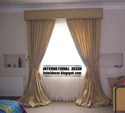 Latest Classic Curtain Designs Models Bedroom