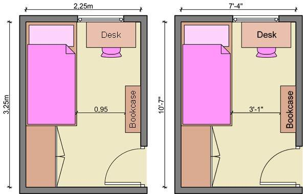 Layout Small Bedroom Indiepedia