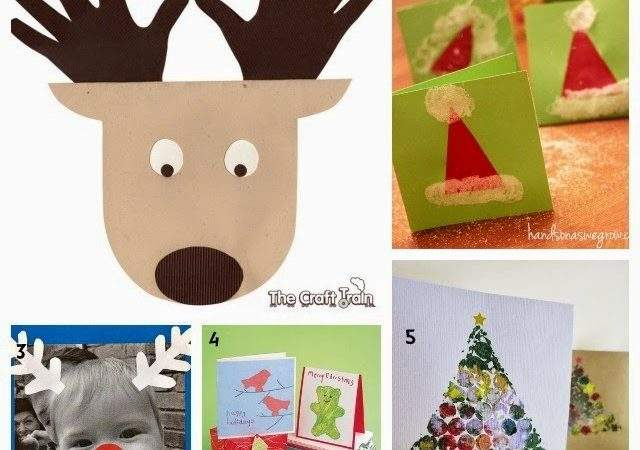 Learn Play Home Christmas Card Ideas Kids Can