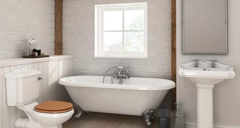 Legend Traditional Roll Top Bathroom Suite Victorian