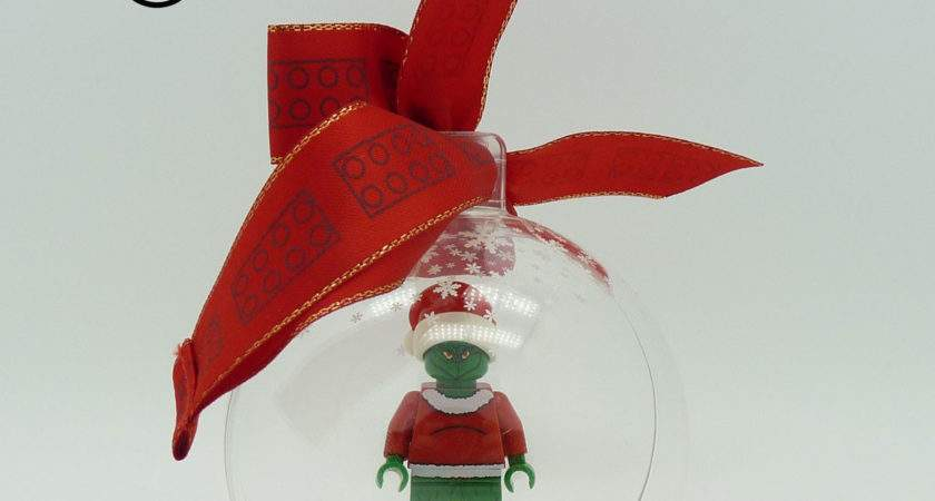 Lego Christmas Bauble Awesome Assorted Ribbon Colour