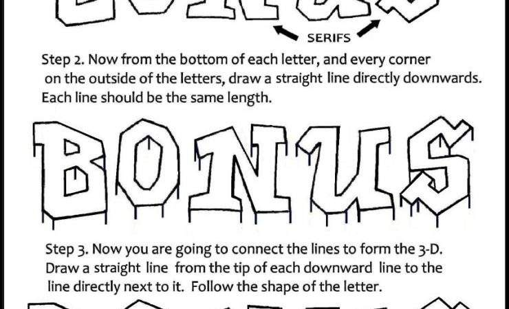 Letters Drawing Art Lettering Bubble Letter