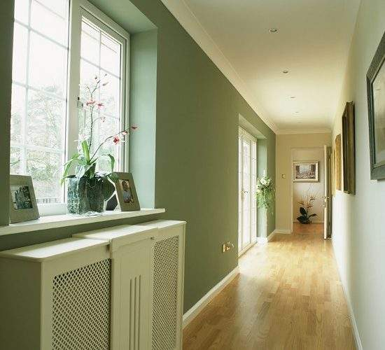 Light Airy Long Hallway Colour Schemes