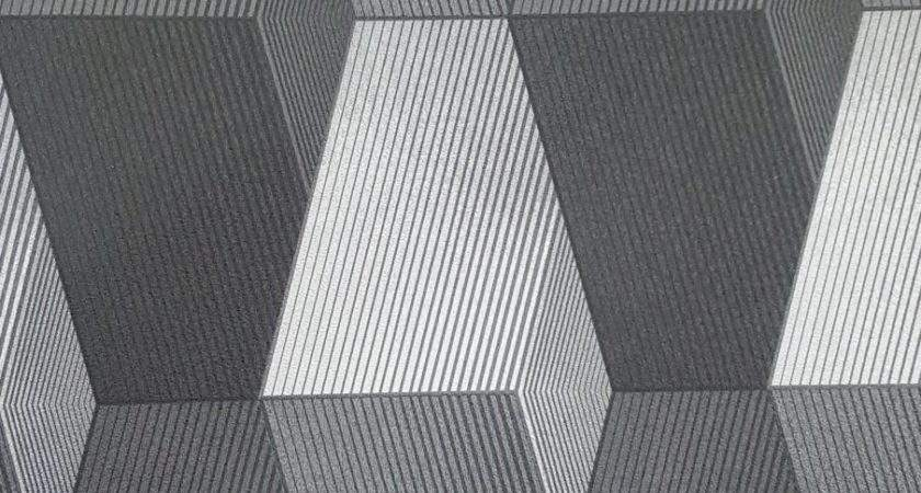 Light Dark Grey Modern Patterned