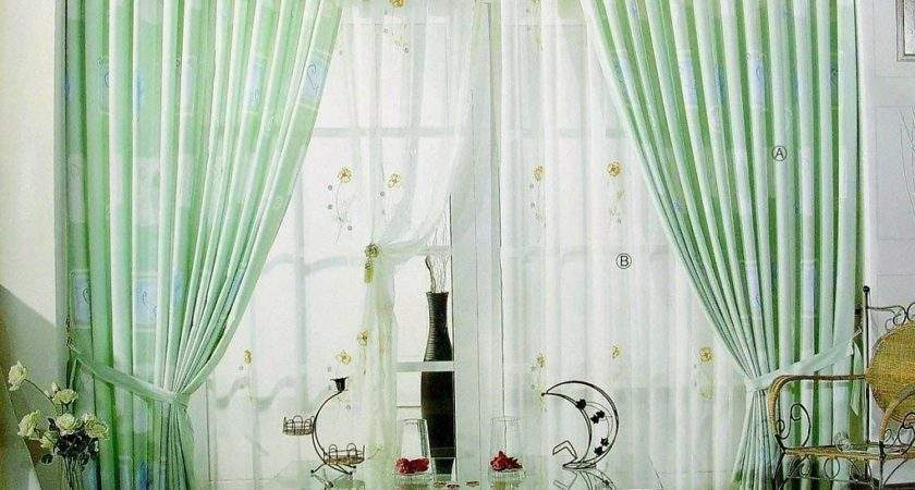 Light Green Living Room Curtains Clean