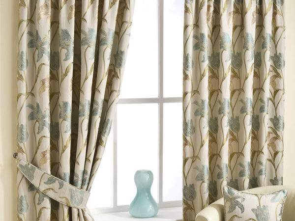 Lily Duckegg Pencil Pleat Luxury Ready Made Curtains