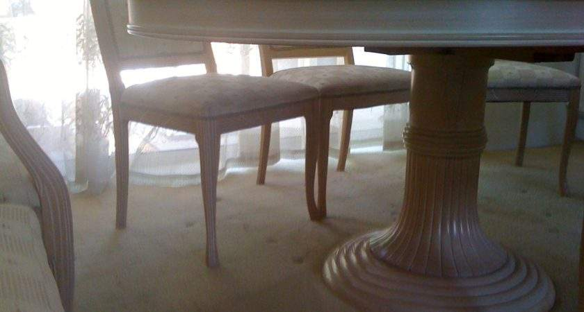 Limed Oak Ext Dining Table Chairs