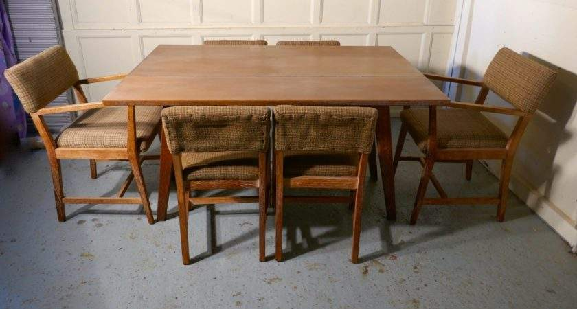 Limed Oak Extending Dining Table Set Chairs