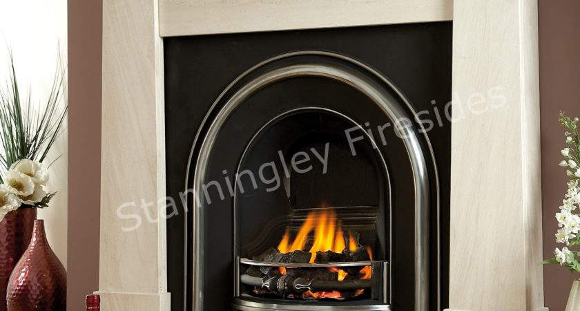 Limestone Oslo Fireplace Package Stanningley Firesides