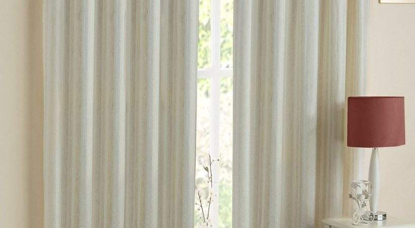 Lined Voile Curtains White Integralbook
