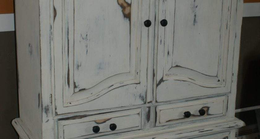 Little Chic Shabby Armoire