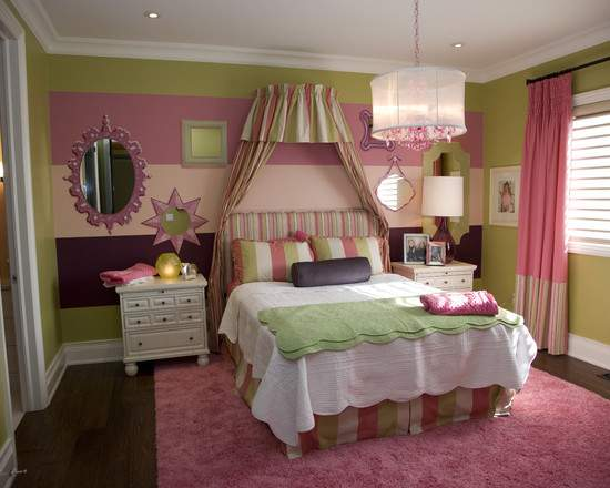 Little Girls Bedroom Wall Color