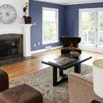 Living Paint Color Ideas Creamy Blueberry Room Colors