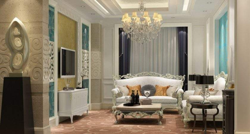 Living Room Classic House