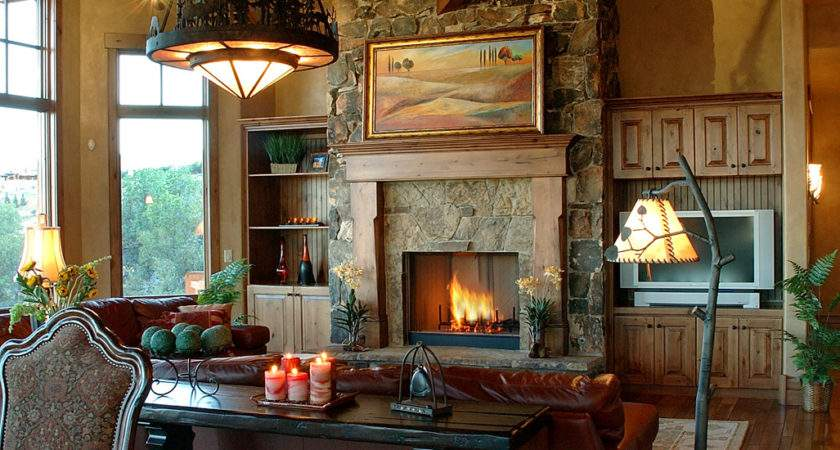 Living Room Design Wood Stove Interior Designs